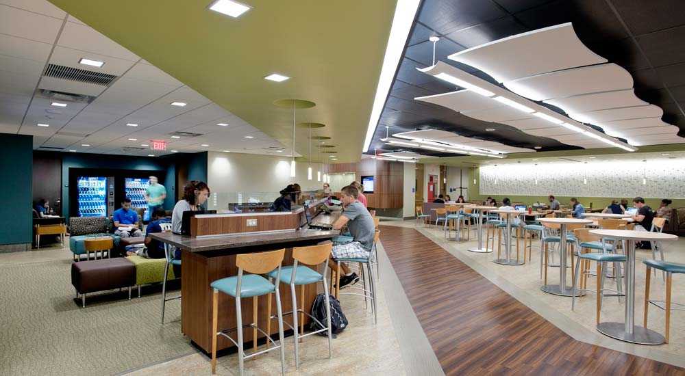Barco law school student lounge strada a cross disciplinary design firm for Interior design schools in philadelphia