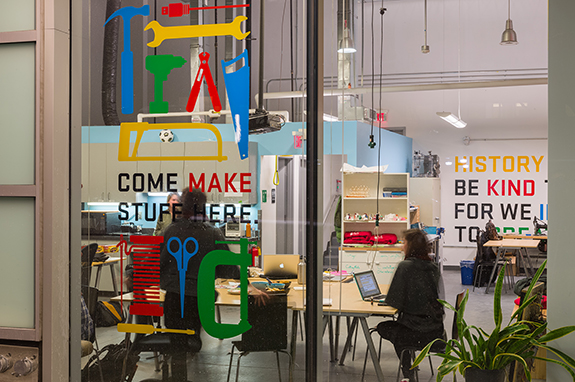 Anything is possible at the Department of Making + Doing.