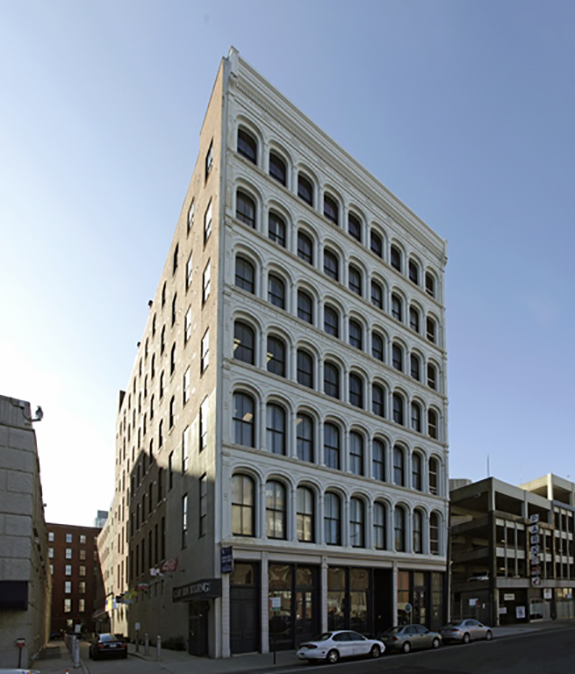 Located in the historic Cast Iron Building, Strada's Philadelphia office is just around the corner from Independence Hall. (Photo courtesy of http://tdkca.com/718-arch-street-philadelphia-pa/)