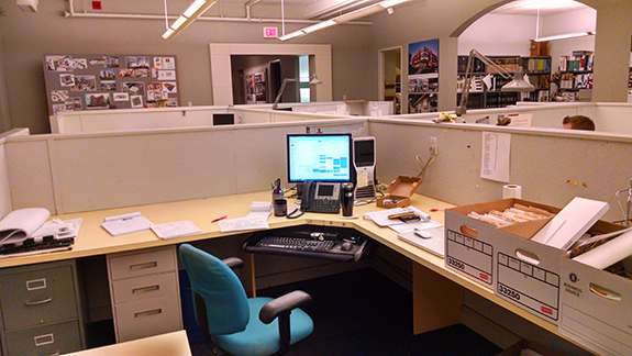 Our office before the renovation.