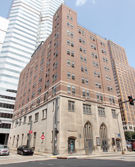 Exterior view of the former Salvation Army Building, which will become the Distrikt Hotel