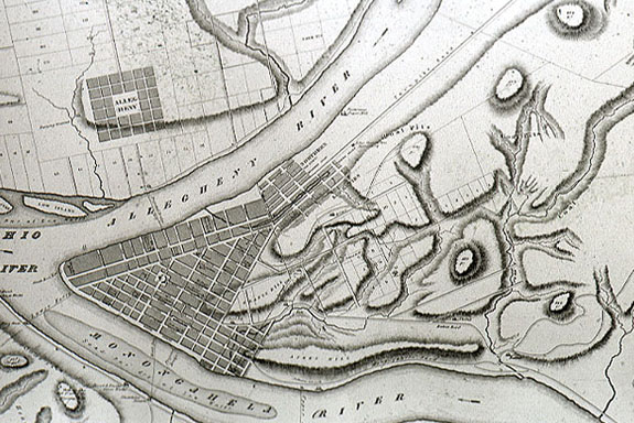 Redick's plan of Allegheny City, 1787