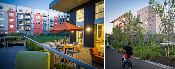 Urbanites are flocking to Bakery Living 1 for its slew of amenities, all just a quick walk away from Bakery Square, shops, restaurants, and bike trail.